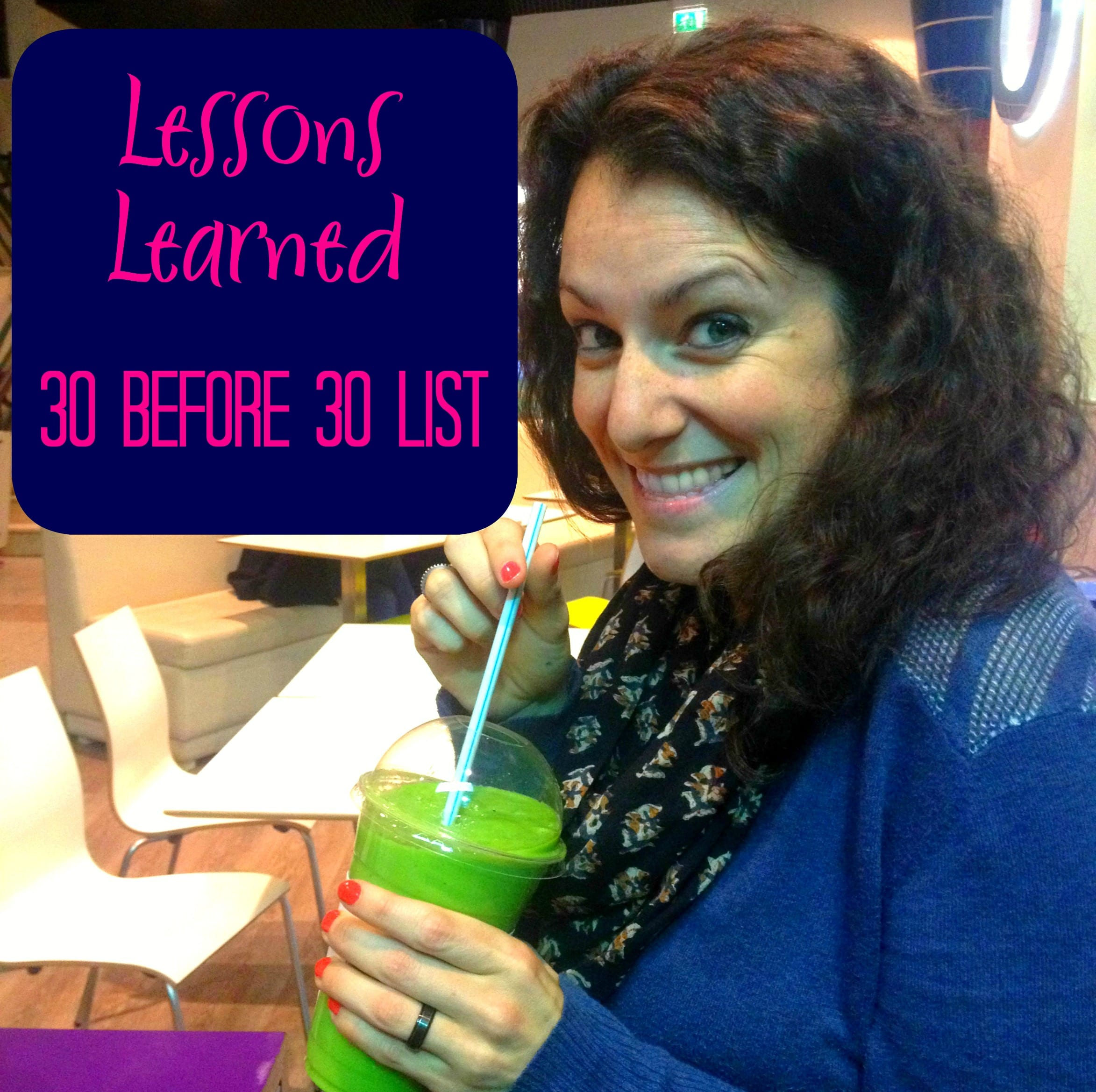 30 before 30 Facebook lesson learned